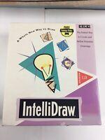 "Vtg Aldus Intellidraw 1.0 Macintosh Mac Art Software Drawing 3.5"" Disks 1992"