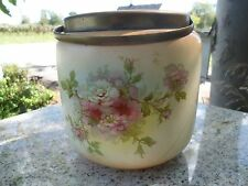 Antique 1910 Biscuit Jar S.F. & C. England with Peek, Frean & Co.s Compliments