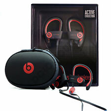 Beats By Dr Dre Powerbeats 2 Wireless Bluetooth In-Ear Black Red BRAND NEW