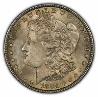 1884 $1 Morgan Silver Dollar - Original Color Toning - SKU-D1916