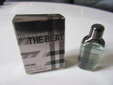 Miniature EDT The Beat For Men de Burberry 4,5 ml. Pleine + boîte.