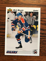 1991-92 Upper Deck #246 Mark Messier Hockey Card Edmonton Oilers NHL Raw