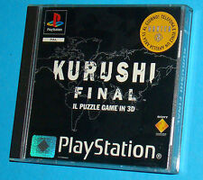 Kurushi Final - Sony Playstation - PS1 PSX - PAL