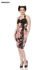 Petite Cotton Sleeveless Knee Length Dresses for Women