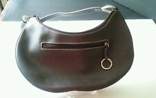 DANIEL RAY Dark Brown Shoulder BAG- PURSE PRE-OWNED