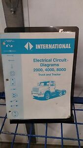International Electrical Circuit Diagrams Truck and Tractor 2000 4000  8000