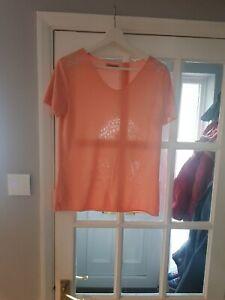 Womens Orange Top