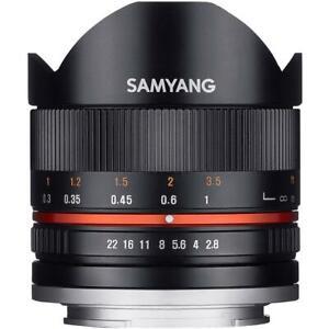 Samyang 8mm F2.8 UMC Fisheye II Lens in Sony E Fit