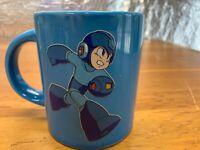 Megaman Capcom 2014 Think Geek Blue Coffee Mug Cup 16 Oz