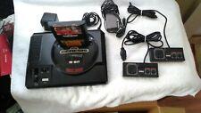 Sega Genesis System 16bit w /2 Model 3020 Controller Pads 1 Game