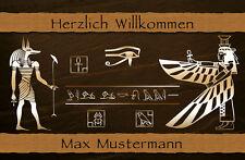 *Fußmatte  ÄGYPTEN*Türvorleger*Deco*WASCHBAR*Pyramiden*Historisch*hieroglyphen