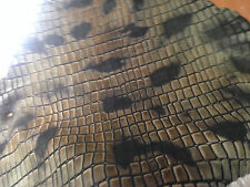 Antiqued Distressed Turtle/Tortoise Embossed Acid Washed Kangaroo Pelt Hide skin