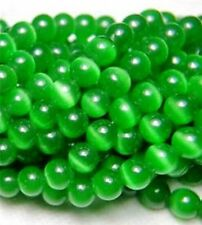 8mm Green Mexican Opal Gemstone Round Loose Beads 15''