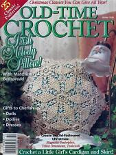 Old-Time Crochet Magazine Back Issue Winter 1995 - Bedspread, Tatted Ornaments