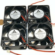 4 pieces Computer case 2Pin 6025 DC Fan 24V 6cm 60x60x25mm Motor Cooling C40