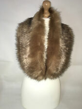 New Ladies Women Winter Soft Faux Fox Fur Collar For Jacket Coats Wraps  shawl