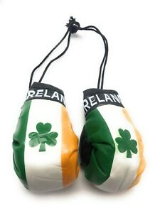 Country Flag Mini Boxing Gloves - New, One Pair, Multiple Countries Available