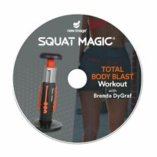 Squat Magic Total Body Blast - Sleek, Sexy & Strong Workout DVD