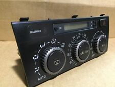 99-05 LEXUS IS200 CLIMATE CONTROL UNIT 88650-53020 HEATER AIRCON REGULATOR