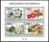 Burundi 2013 Insects Honey Bees sheet of 4 MNH**