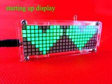 DIY Electronic Microcontroller matrix LED Digital Clock Watch Time Thermometer