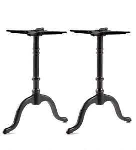 Doppel Tischfuß tischgestell Gusseise Industriedesign Industry B92 (paar)