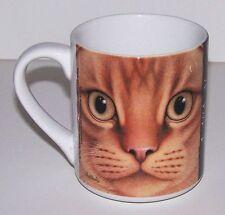 "Braldt Bralds ""Scottish Fold Orange Tabby"" Cat Collectible Coffee Tea Mug New"