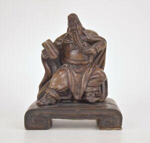 Miniature statuette de sage en pierre Chine