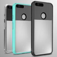 For Google Pixel XL Case Hard Back Soft Bumper Hybrid Slim Cover