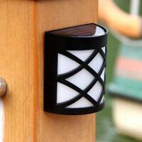 Lampe Solaire Extérieur étanche Spot Solaire Lumière Clôture/Gouttière/Jardin