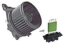 FOR VAUXHALL CORSA D FIAT GRANDE PUNTO HEATER BLOWER MOTOR / FAN&HEATER RESISTOR