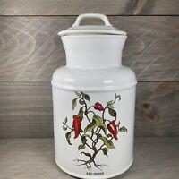 "McCoy Pottery Cookie Jar Red Pepper ""253"" USA 10"" Jar"