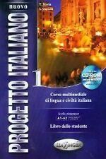 NUOVO PROGETTO ITALIANO 1 (LIBRO+CD) A1-A2. ENVÍO URGENTE (ESPAÑA)