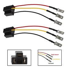 """2PCS H4 9003 HB2 Wiring Harness Socket for 4""""x6"""" 7""""x6"""" 5""""x7"""" Car Truck Headlight"""