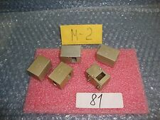 5 units lot RF Microwave  WR62 Waveguide Right Angle Adapter 15GHz MA-0117-0
