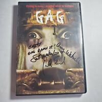 Gag DVD Signed By Cast