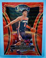 Rui Hachimura 2019-20 Panini Select T-Mall PREMIER RED WAVE PRIZM RC SSP 🔥