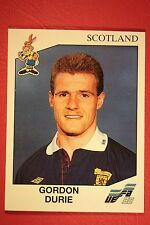 Panini EURO 92 N. 158 SCOTLAND DURIE NEW WITH BLACK BACK TOP MINT!!