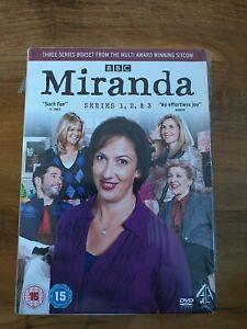 MIRANDA HART COMPLETE SERIES 1-3 DVD  BOX SET Season 1 2 3 Original UK Releas R2