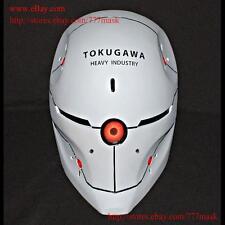 1:1 Halloween Costume Metal Gear Solid Cosplay Prop Mask Gray Fox Helmet MA203
