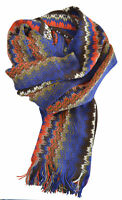 Sciarpa Missoni Scarf Unisex MADE IN ITALY Grande 50x200 100% genuine 6104var.00