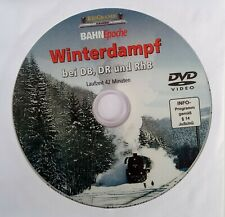 Eisenbahn DVD Video / Winterdampf / Laufzeit 42 Minuten