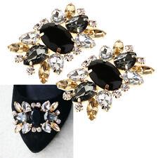 1 pares de pedrería cristal zapato hebilla clip de zapatos zapato joyas para novia boda