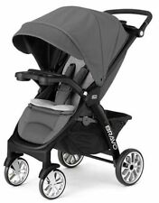 Chicco Bravo LE Trio One Hand Quick Fold  Baby Single Stroller  Coal NEW