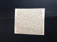 75-2 ephemera 1910 article ashford frank drew drunk with horse and van