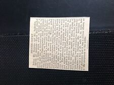 75-2 ephemera 1910 article ashford frank drew drunk with horse and van