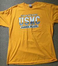United States Marine Corps 2nd Recruit Battalion Parris Island USMC T-shirt XL