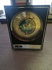 Howard Miller World Time Clock With Electronic Transistor Clock Movement Japan