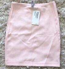 ORIGINAL American Apparel Ponte Mini Skirt Warehouse light Pink Cotton Candy S