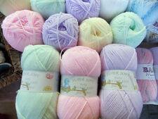 Job Lot - James C Brett - Mixed Colours - Baby DK - Yarn Wool - 8 x 100g Balls
